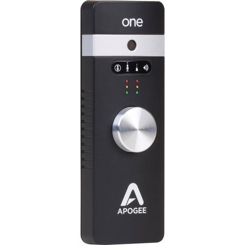 Apogee One The First Studio-quality Audio Interface And Microphone for Iphone, Ipad & Mac