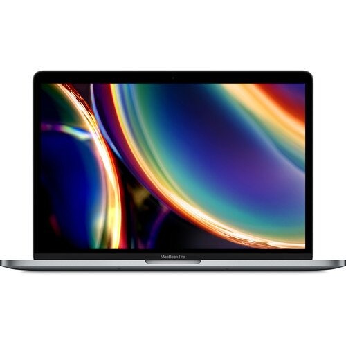 Apple 13-inch MacBook Pro (2020) - 2.0GHz Quad-Core Processor with Turbo Boost up to 3.8GHz 512GB Storage Touch Bar and Touch ID - Space Gray