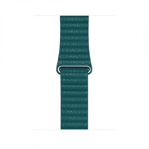 Apple 44mm Leather Loop Band - Large - Peacock