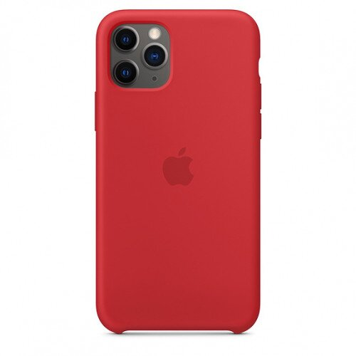 Apple iPhone 11 Pro Silicone Case - Product Red