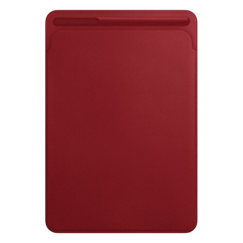 Apple Leather Sleeve for 10.5‑inch iPad Pro - Product Red