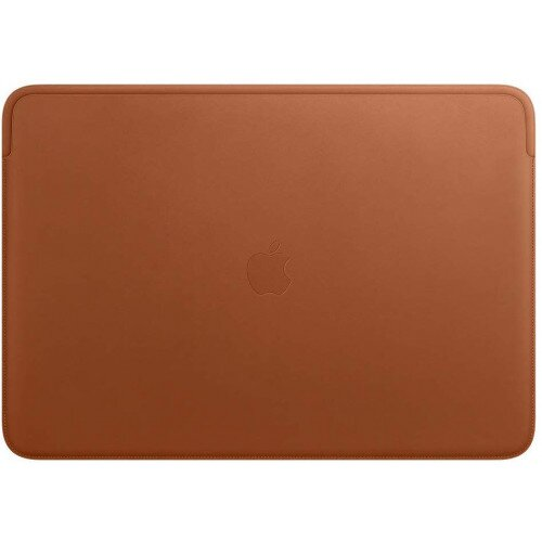 Apple Leather Sleeve for 16‑inch MacBook Pro - Saddle Brown