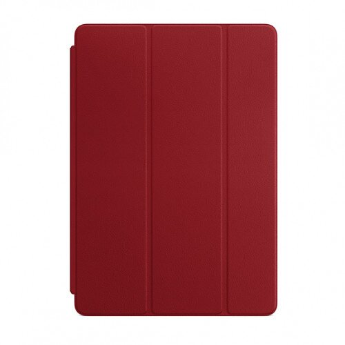 Apple Leather Smart Cover for iPad (7th Gen) and iPad Air (3rd Gen) - Product Red