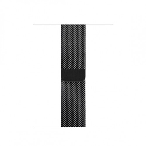 Apple Milanese Loop for Apple Watch - 40mm - Space Black