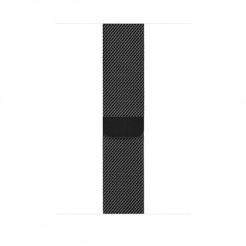 Apple Milanese Loop for Apple Watch - 44mm - Space Black