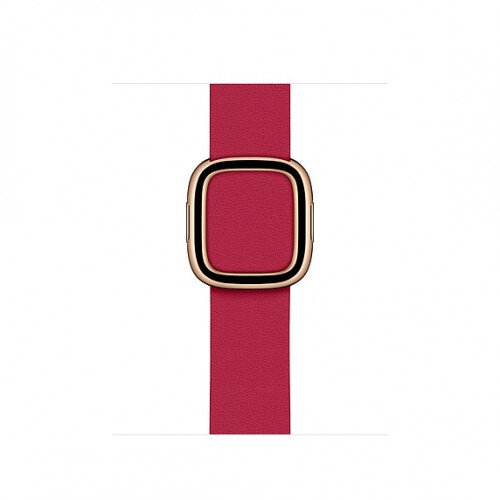 Apple Modern Buckle Band for Apple Watch - Large - Raspberry