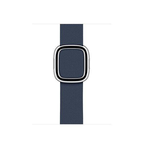 Apple Modern Buckle Band for Apple Watch - Large - Deep Sea Blue