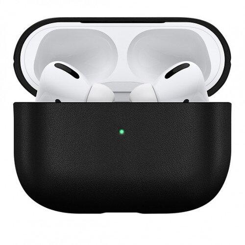 Apple Native Union Leather AirPods Pro Case - Black