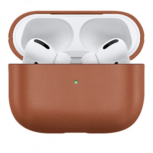 Apple Native Union Leather AirPods Pro Case - Tan