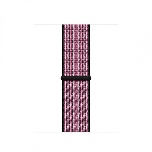 Apple Nike Sport Loop for Apple Watch - 40mm - Pink Blast/True Berry