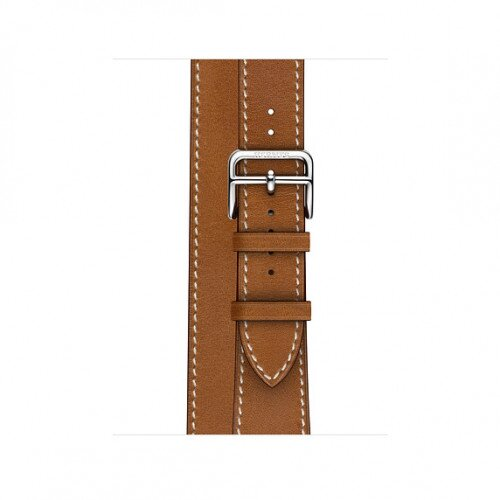 Apple Watch Hermes 40mm Swift Leather Double Tour - Fauve