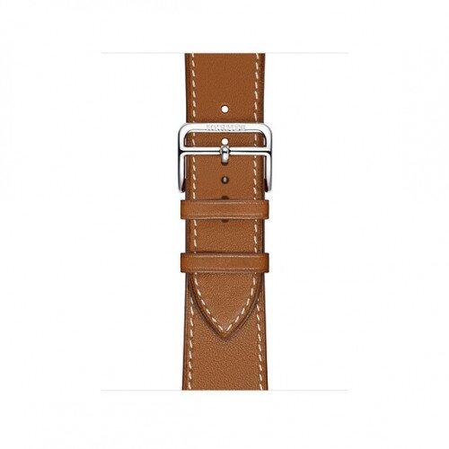 Apple Watch Hermes Swift Leather Single Tour - 40mm - Fauve