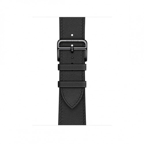 Apple Watch Hermes Swift Leather Single Tour - 40mm - Noir