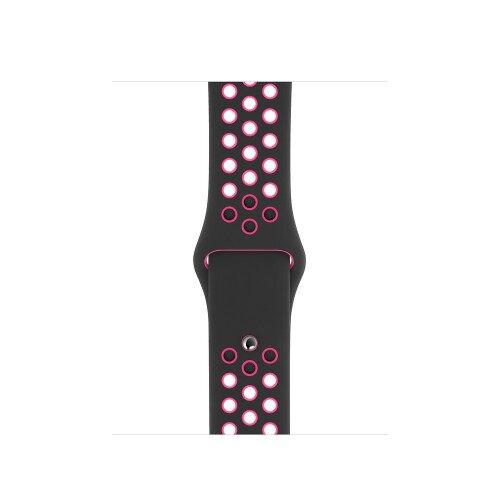 Apple Watch Nike Sport Band - 40mm - Black/Pink Blast