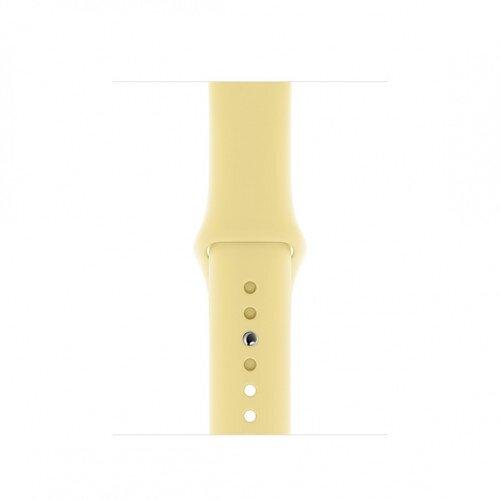 Apple Watch Sport Band - 40mm - S/M & M/L - Lemon Cream
