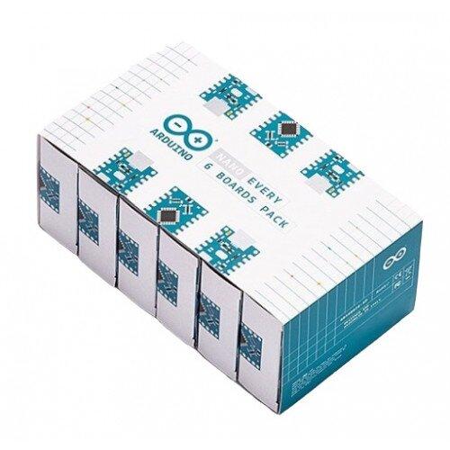 Arduino Nano Every Board - 6 Pack