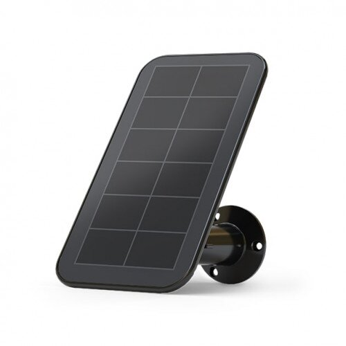 Arlo Solar Panel Charger for Ultra, Pro 3 & 4 Cameras - Black