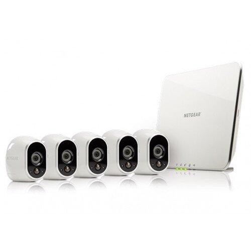 Arlo Smart Security System with 5 Arlo Cameras