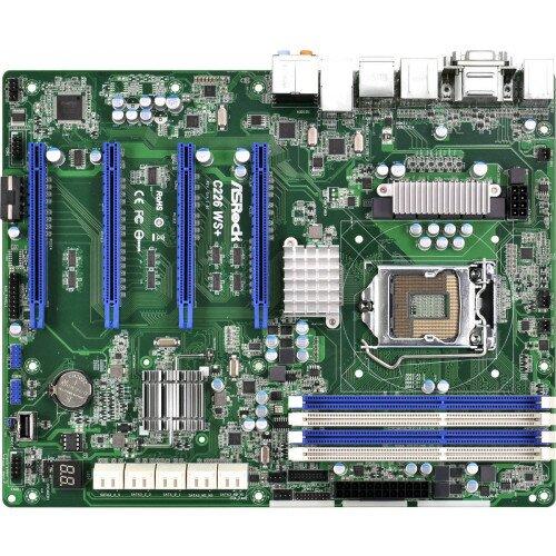 ASRock Rack C226 WS+ Motherboard
