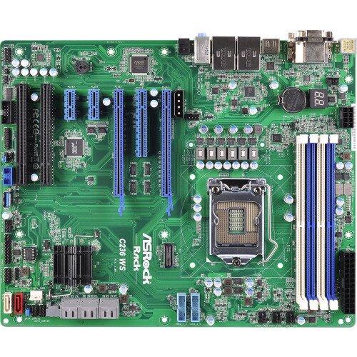 ASRock Rack C236 WS Motherboard