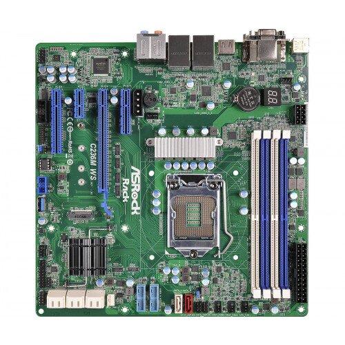 ASRock Rack C236M WS Motherboard