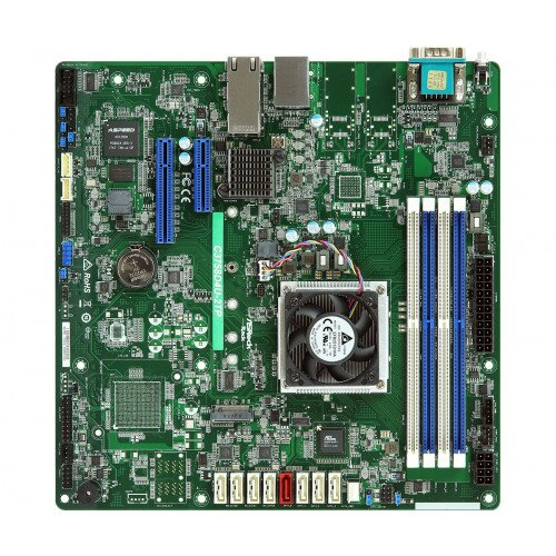 ASRock Rack C3758D4U-2TP Motherboard