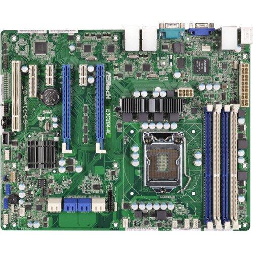 ASRock Rack E3C204-4L Motherboard