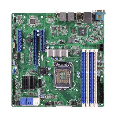 ASRock Rack E3C222D4U Motherboard