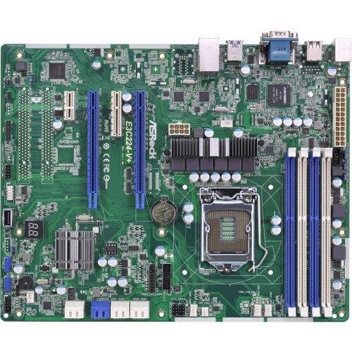 ASRock Rack E3C224-V+ Motherboard