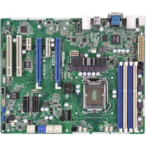 ASRock Rack E3C224 Motherboard