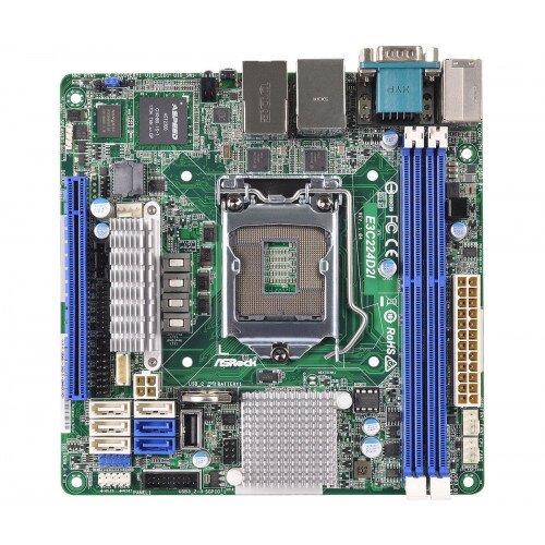 ASRock Rack E3C224D2I Motherboard