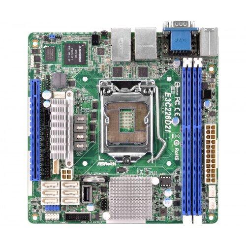 ASRock Rack E3C226D2I Motherboard