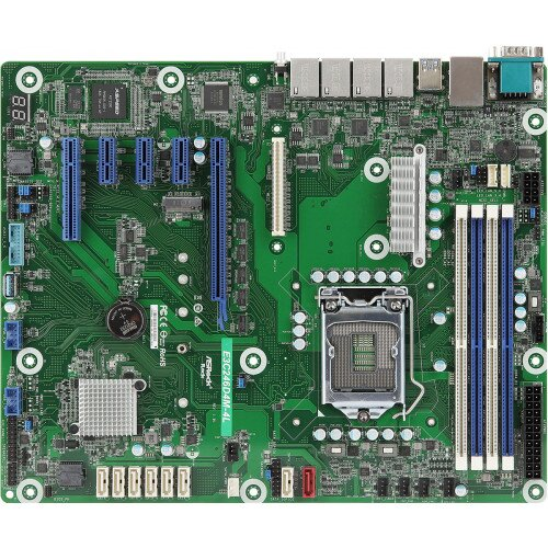 ASRock Rack E3C246D4M-4L Motherboard