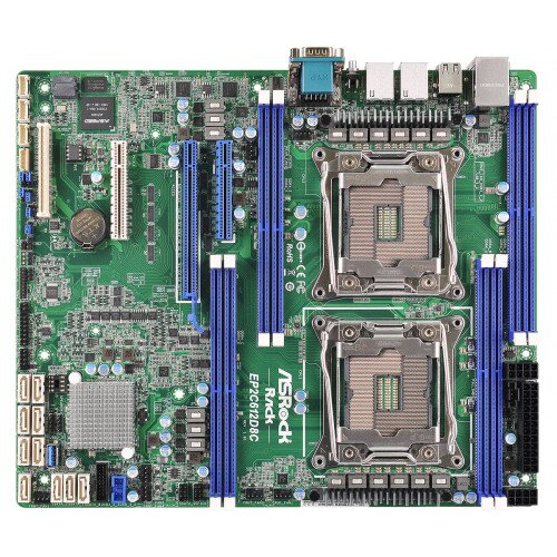 ASRock Rack EP2C612D8C Motherboard