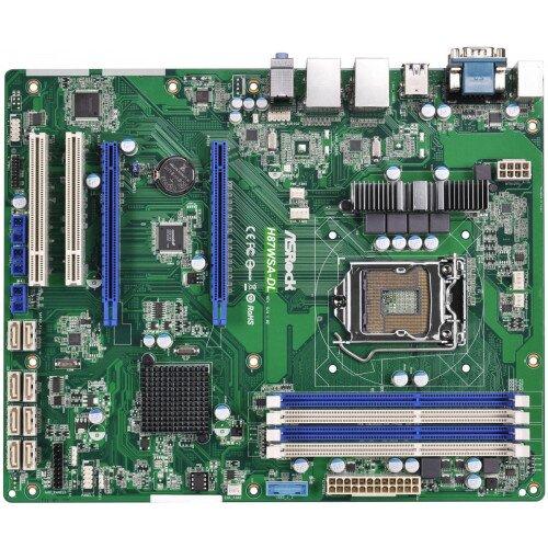 ASRock Rack H87WSA-DL Motherboard