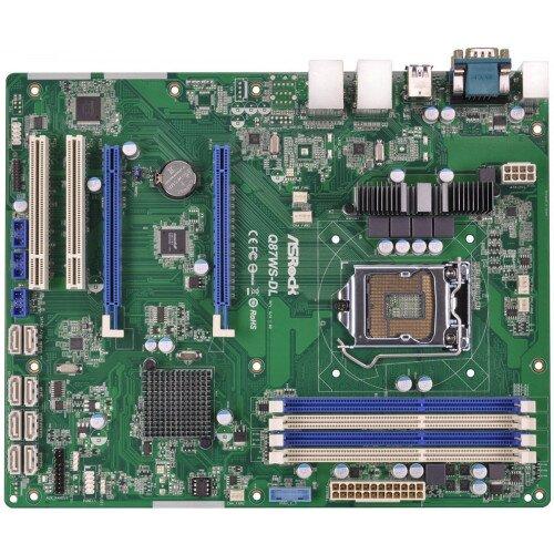 ASRock Rack Q87WS-DL Motherboard