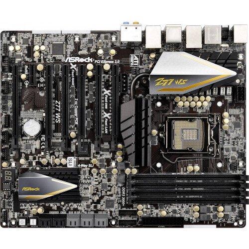 ASRock Rack Z77 WS Motherboard