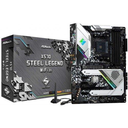 ASRock X570 Steel Legend WiFi ax Motherboard