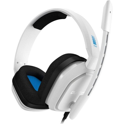 ASTRO Gaming A10 Wired Gaming Headset - White/Blue