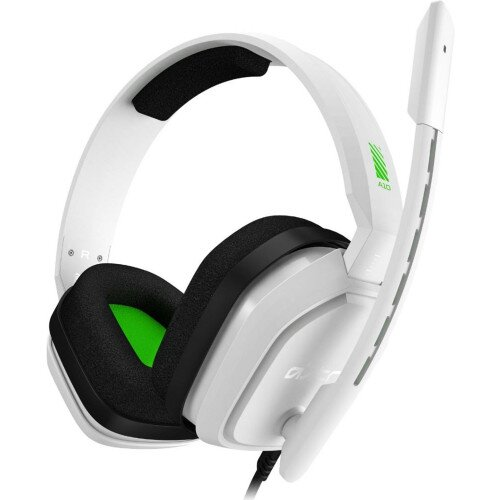 ASTRO Gaming A10 Wired Gaming Headset - White/Green