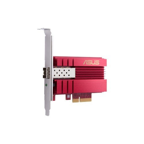 ASUS XG-C100F 10G PCIe Network Adapter SFP+ port for Optical Fiber Transmission and DAC cable