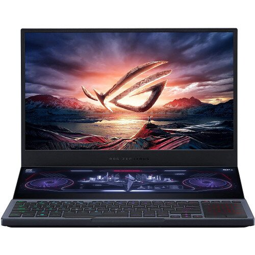 """ASUS 15.6"""" ROG Zephyrus Duo 15 Gaming Laptop - Intel Core i7-10850H - 1TB M.2 PCIe NVMe SSD - NVIDIA GeForce RTX 2070 - Windows 10 Home"""