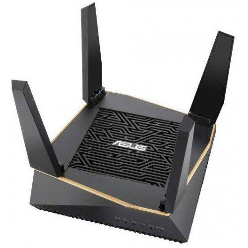 ASUS RT-AX92U AX6100 Tri-band WiFi 6 (802.11ax) Router - Single Pack