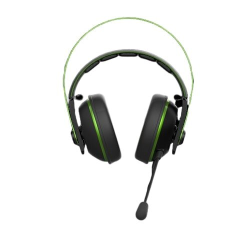 ASUS Cerberus V2 Gaming Headset with Dual-microphone Design - Green