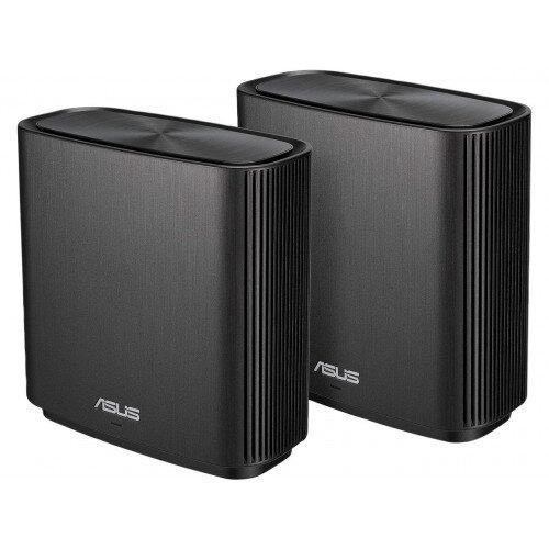 ASUS CT8 ZenWiFi AC3000 Wireless Tri-Band Mesh Wi-Fi System - 2 Pack - Black