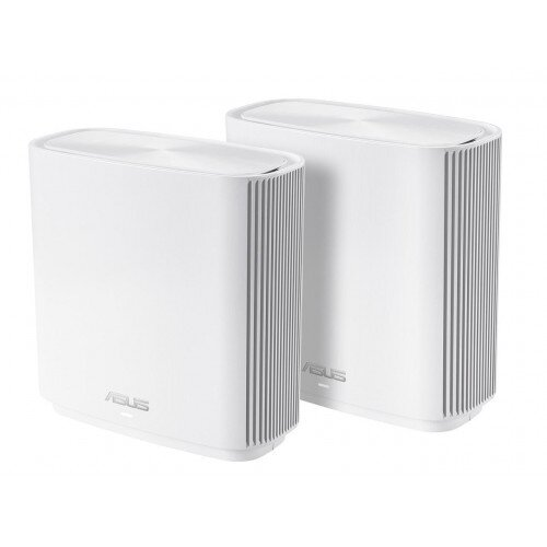 ASUS CT8 ZenWiFi AC3000 Wireless Tri-Band Mesh Wi-Fi System - 2 Pack - White