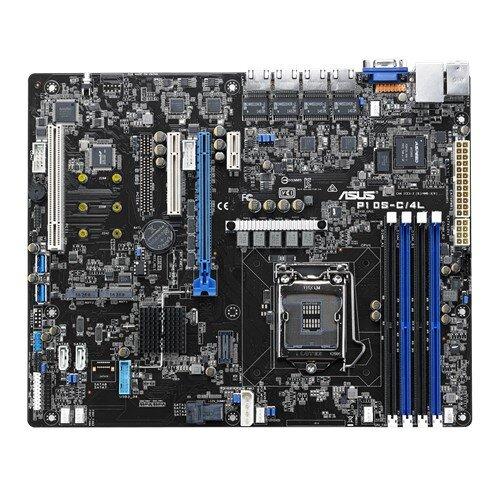 ASUS P10S-C/4L Quad LAN with Platinum Grade Power Saving Technology Motherboard