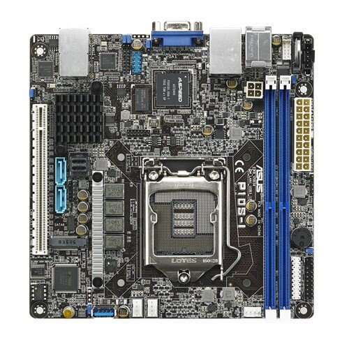 ASUS P10S-I Best Storage and High Density Computing Candidate Motherboard