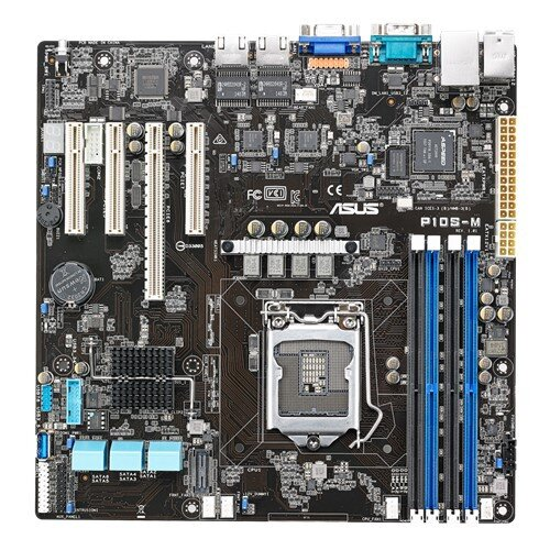 ASUS P10S-M Compact Size with Expandable Motherboard