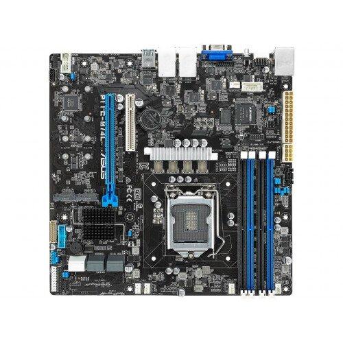 ASUS P11C-M/4L LGA1151 C242 Server Workstation Micro ATX Motherboard